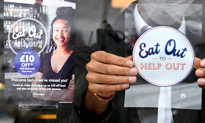 The Eat Out To Help Out scheme will be valid throughout August 2020