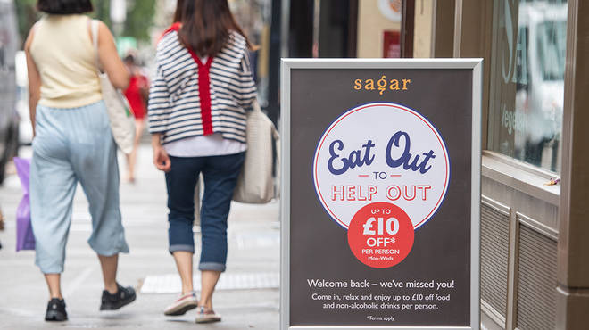 Eat Out To Help Out is available three days a week