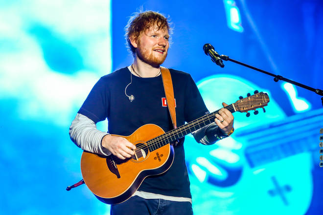 The research found that Ed Sheeran was the top artist for first wedding dance songs