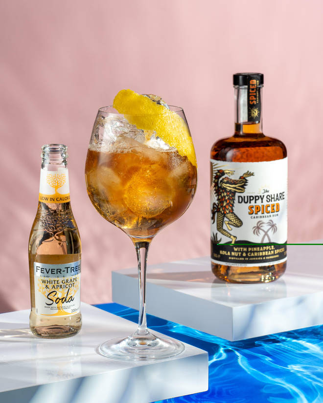 The Spiced Spritz is easy to make and really refreshing