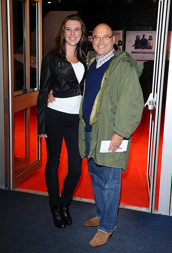 Gregg Wallace and his third wife Heidi