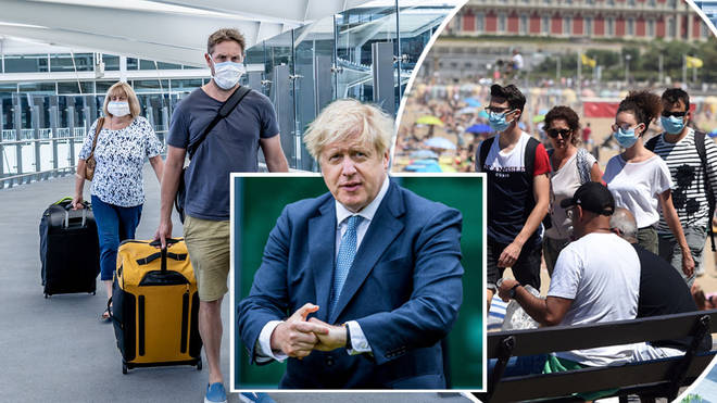 Brits travelling back from France after 4am on Saturday will be required to quarantine for 14 days