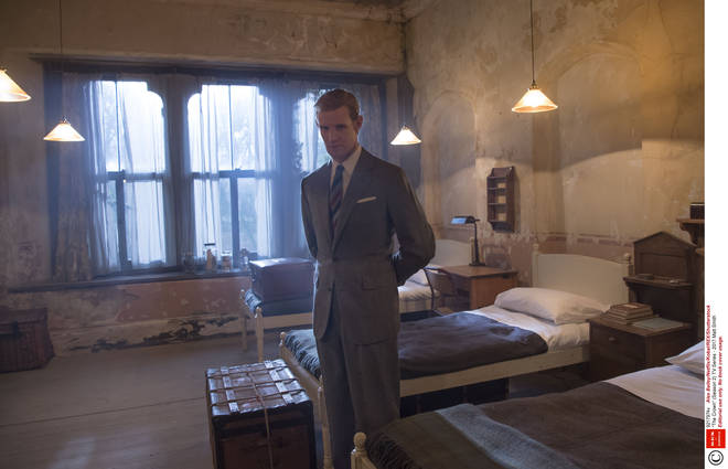 Prince Philip (played by Matt Smith) is adamant his son must attend Gordonstoun School.
