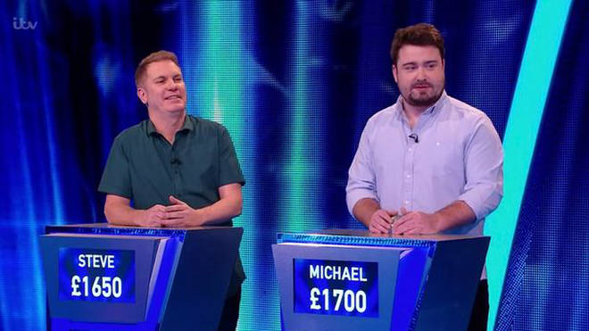 Steve was criticised for his appearance in Tipping Point