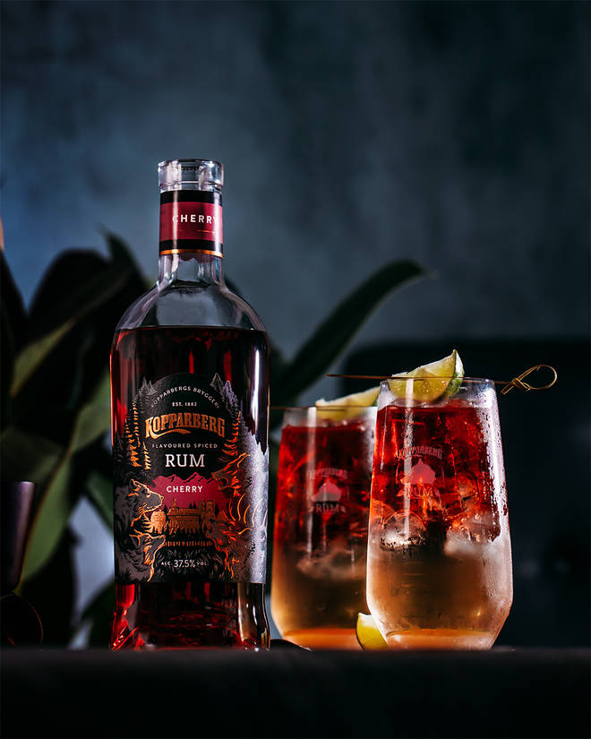 The Cherry Storm is a take on a Dark and Stormy