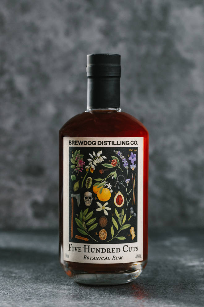 Five Hundred Cuts is made from a base of sugarcane molasses