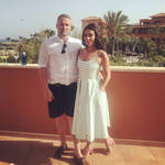 Candice Brown and her partner Liam McCaulay