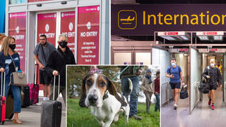 Holidaymakers could face £1000 fines for breaking quarantine rules