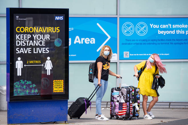 Brits rushed to get home before the new quarantine rules came into force