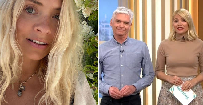 Holly Willoughby has been forced to come back to the UK
