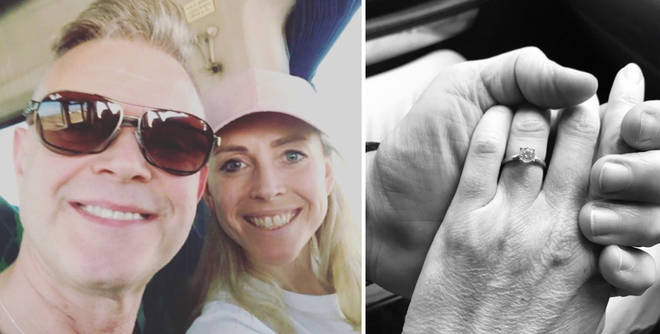 Darren Day is engaged to Sophie Ladds