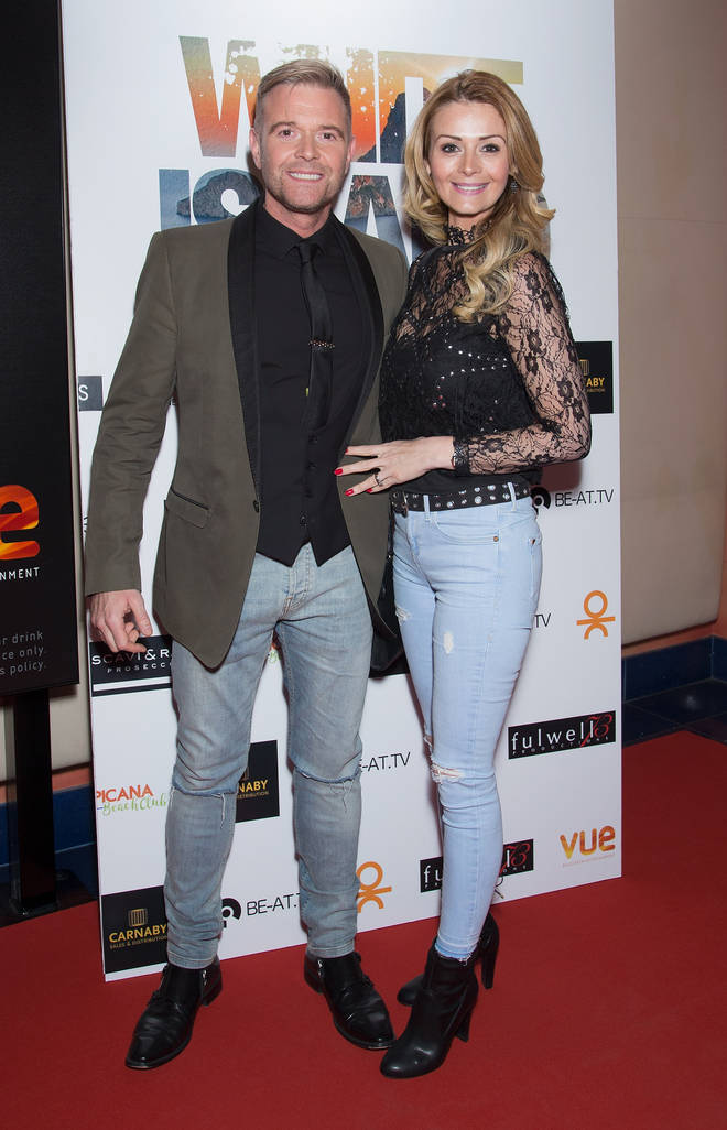 Darren Day and his ex wife Stephanie Dooley