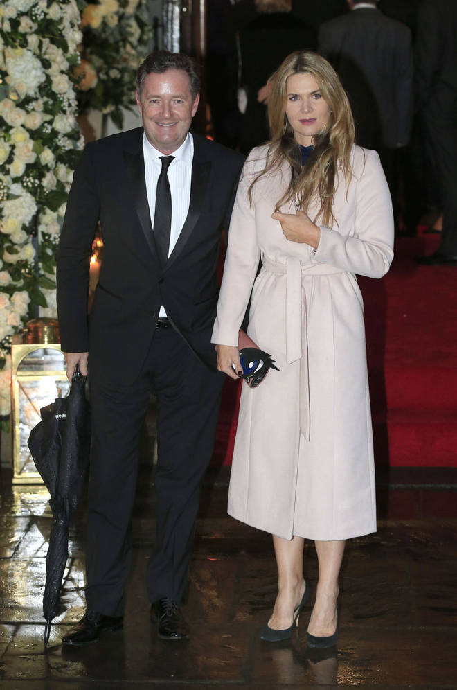 Piers Morgan and wife Celia have been together for ten years