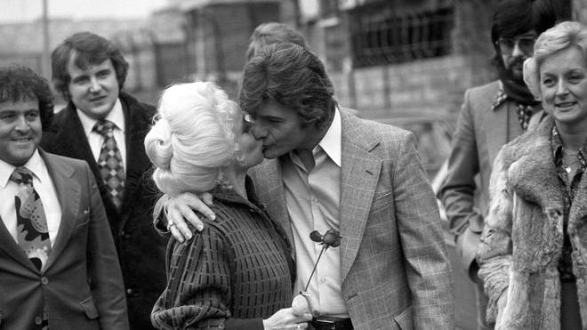 Barbara Windsor and Ronnie Knight were married for 22 years