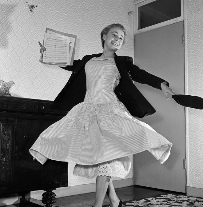 Barbara Windsor got her big break in the Carry On films
