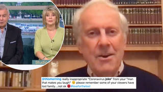 This Morning viewers are not happy with Gyles Brandreth's joke