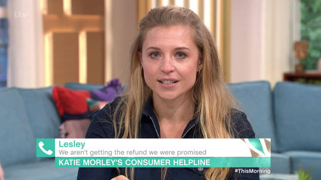 Katie Morley accidentally swore on This Morning