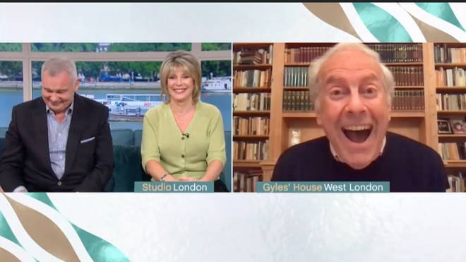 Gyles Brandreth offended This Morning viewers with his coronavirus joke