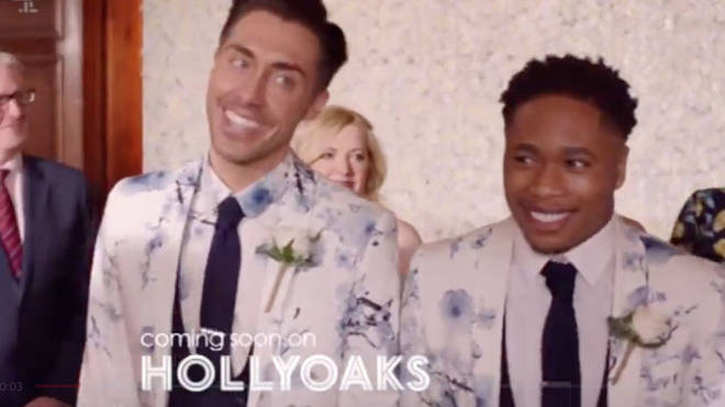 Scott and Mitchell are getting married when Hollyoaks returns