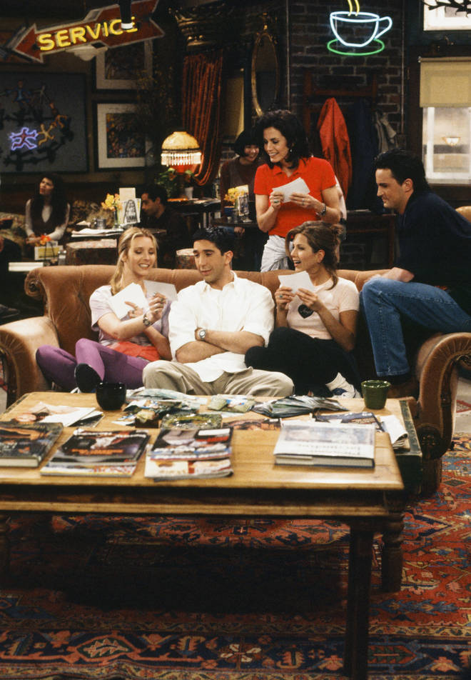 Friends aired between 1992 and 2004