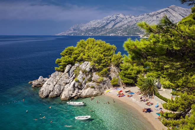 Croatia is currently on the quarantine-free list (stock image)