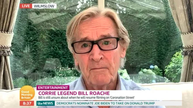 William Roache has revealed when he could be back on Coronation Street