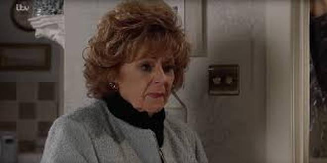 Barbara Knox has also had to stop filming Coronation Street