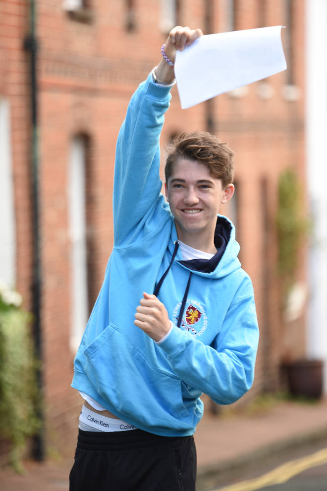 GCSE results were released today (Thursday 20 August)