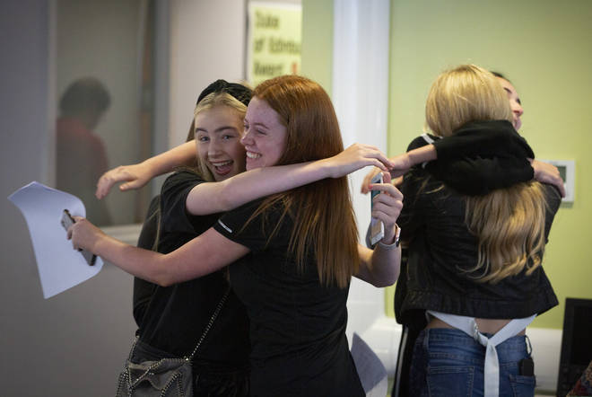 Around 700,000 students received their GCSE results today