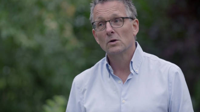 Michael Mosley has been helping the participants lose weight with a 800-calorie-per-day diet