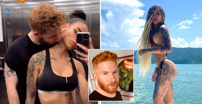 Neil Jones has gone public with his new girlfriend