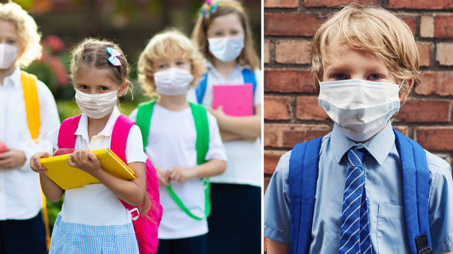The Primary School will not allow face coverings, and are encouraging parents to get surgical masks for their children