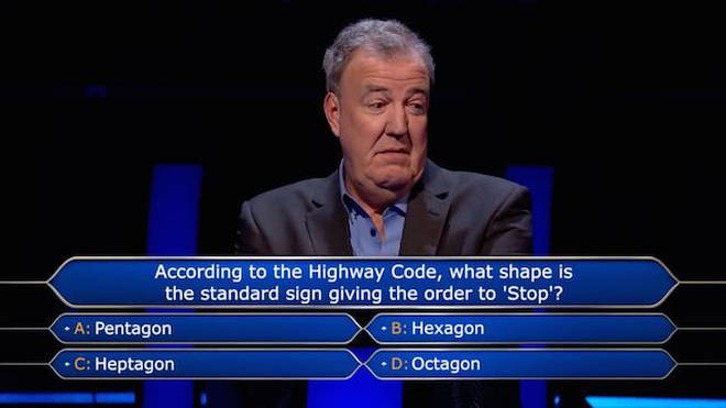 Jeremy Clarkson has presented Who Wants To Be A Millionaire for two years