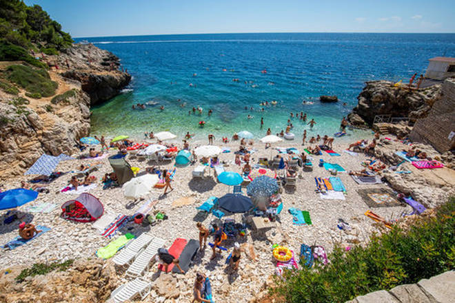 Croatia is a popular holiday destination for Brits