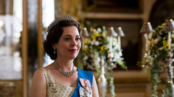 Olivia Coleman plays the Queen in The Crown
