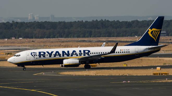 Ryanair will be grounding flights across Europe as strikes take place.