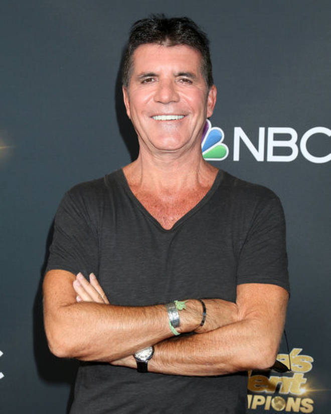 Simon Cowell broke his back in a bike accident earlier this year