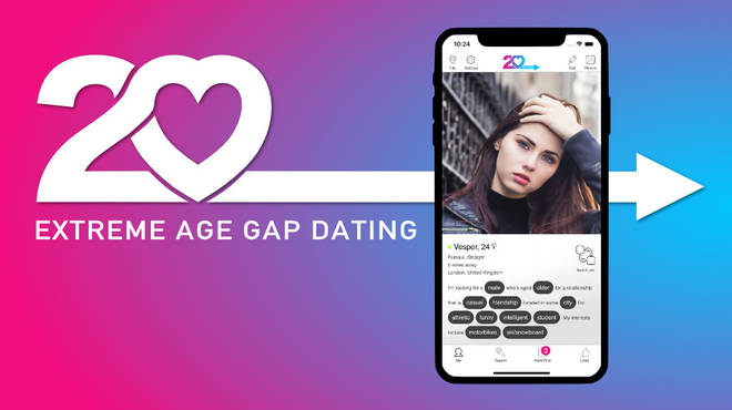 The app is named '20 Dating'