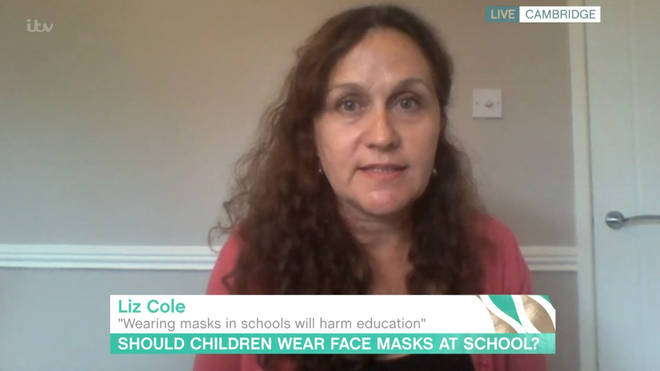 Liz Cole appeared on This Morning on Tuesday