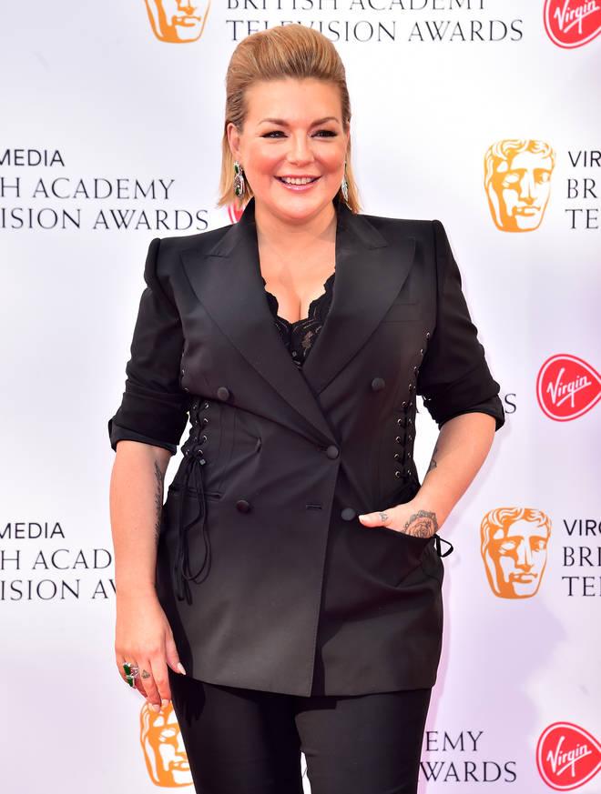 Sheridan Smith at the BAFTAs