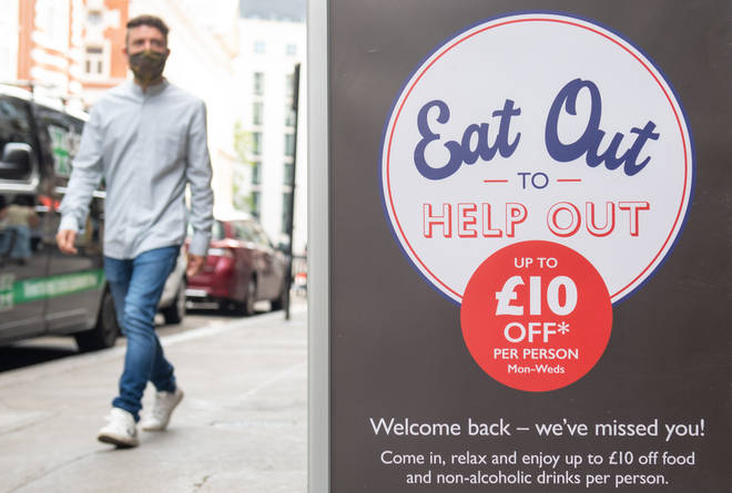 Eat Out to Help Out will finish at the end of the month