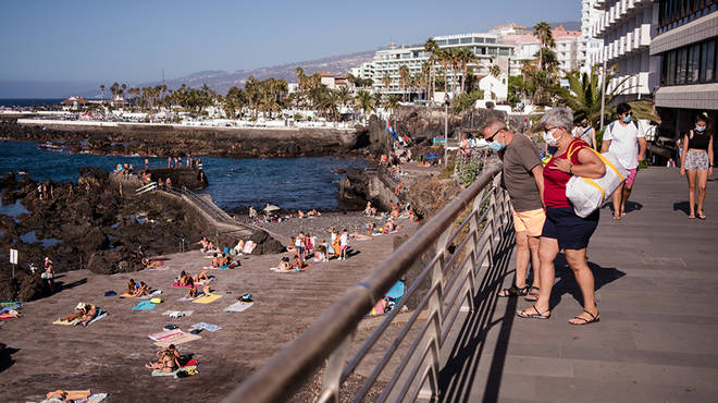 The UK Government have warned against all but essential travel to Spain and the Canaries