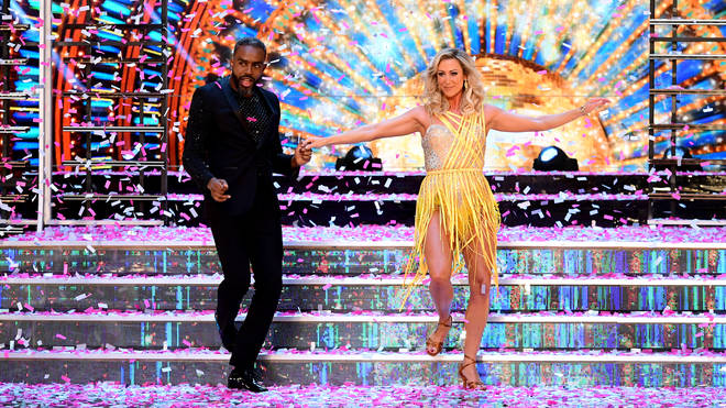 Charles Venn and Faye Tozer are hoping to dance their way to the final