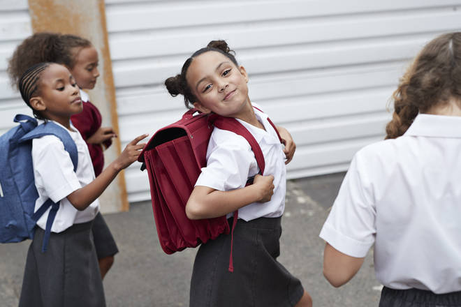 Many kids are getting ready for the new school term (stock image)