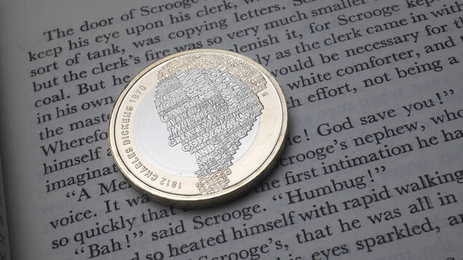 The Charles Dickens £2 coin