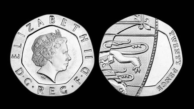 The undated 20p