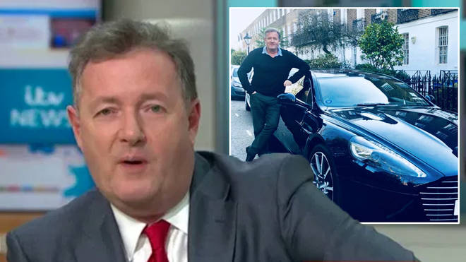 Piers Morgan has avoided penalty points after speeding