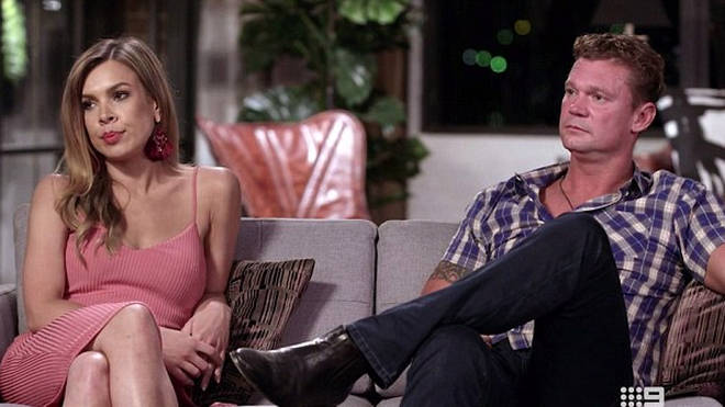 Carly Bowyer and Justin Fischer split before the end of MAFS