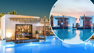 The resort will make you feel like you're in the Maldives, but for a fraction of the price