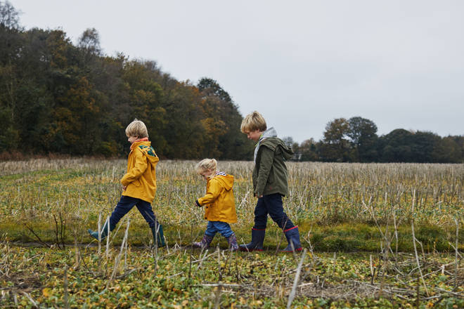 Make the most of the autumn weather and head outdoors